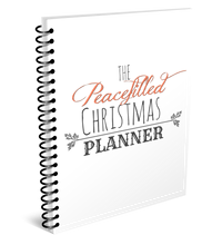 Load image into Gallery viewer, Christmas Holiday Planner