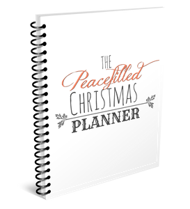 Christmas Holiday Planner