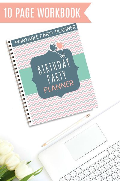 {10 Pages} Birthday Party Planner