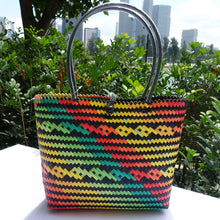 Load image into Gallery viewer, Back to Nature Wave Penan Tote Bag