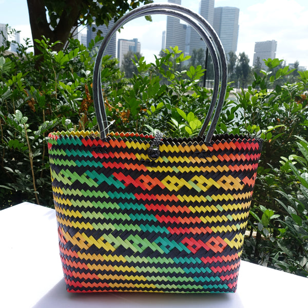 Back to Nature Wave Penan Tote Bag