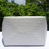 White Handwoven Penan Basket Bag