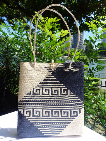 Rattan Penan Handwoven Document Bag
