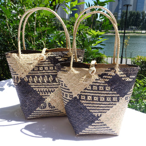 Rattan Penan Handwoven Basket Bag