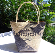 Load image into Gallery viewer, Rattan Penan Handwoven Basket Bag