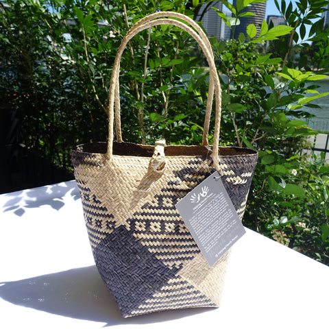 Rattan Penan Handwoven Basket Bag 2