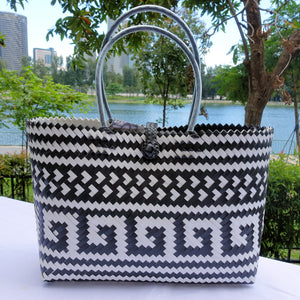 Black & White Treasure Penan Tote Bag