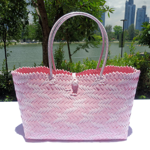 Two Pinks Low Rise Juhit Penan Tote Bag