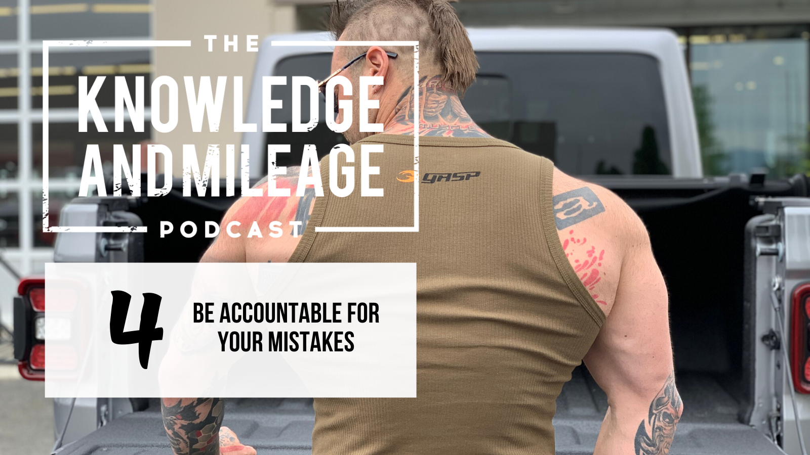 EP 4: Be Accountable for Your Mistakes: The 8 Week Hardcore Daily Video Trainer Reboot Series