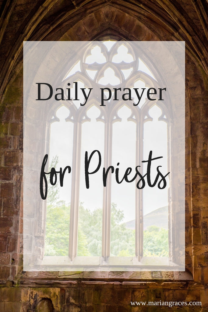 Daily prayer for Priests