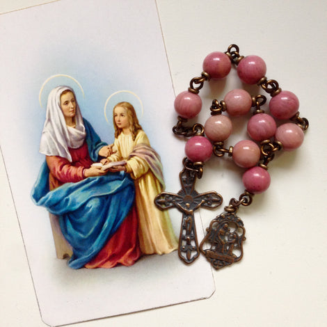 Bronze Pocket Rosaries