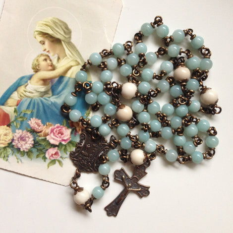 Bronze Heirloom Rosaries