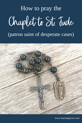 How to pray the chaplet to St. Jude