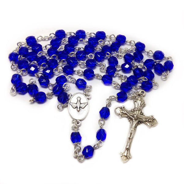 Blue Holy Spirit Rosary