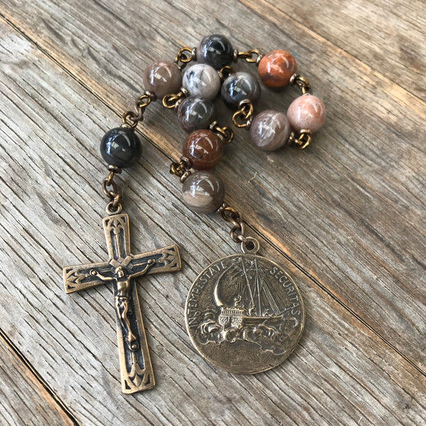 St. George Pocket Rosary - Large