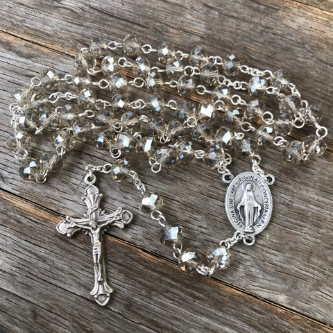 Miraculous Medal Women's Rosary