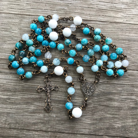 Holy Communion Heirloom Rosary