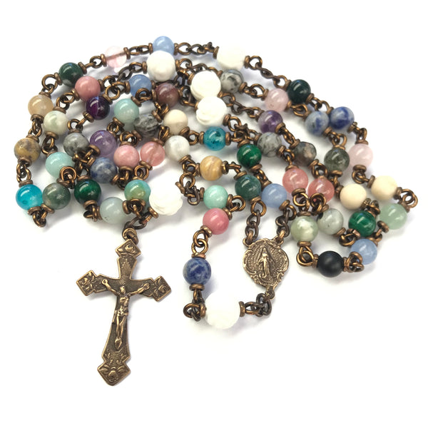 Miraculous Medal Heirloom Rosary