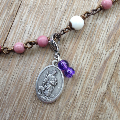 Jesus the Good Shepherd Rosary Marker