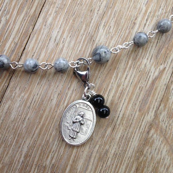 St. Jean Vianney, Cure of Ars Rosary Marker