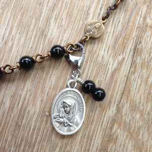 Mater Dolorosa (Our Lady of Sorrows) Rosary Marker