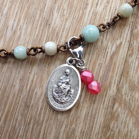 Our Lady of Providence Rosary Marker