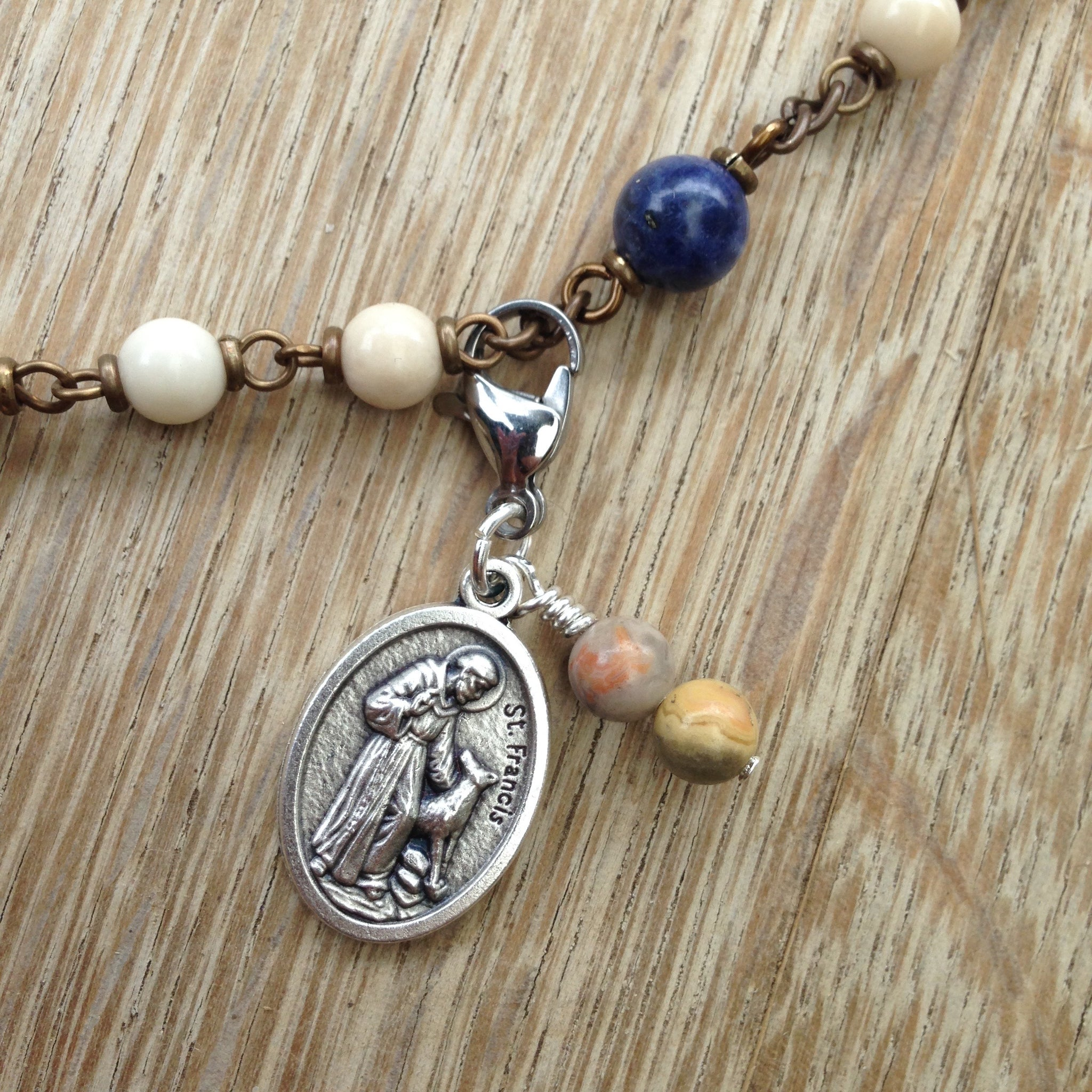 St. Francis of Assisi Rosary Marker