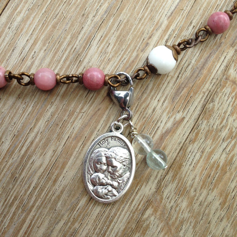 Holy Family Rosary Marker
