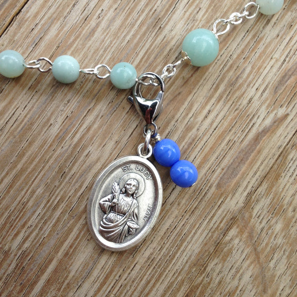 St. Lucy Rosary Marker