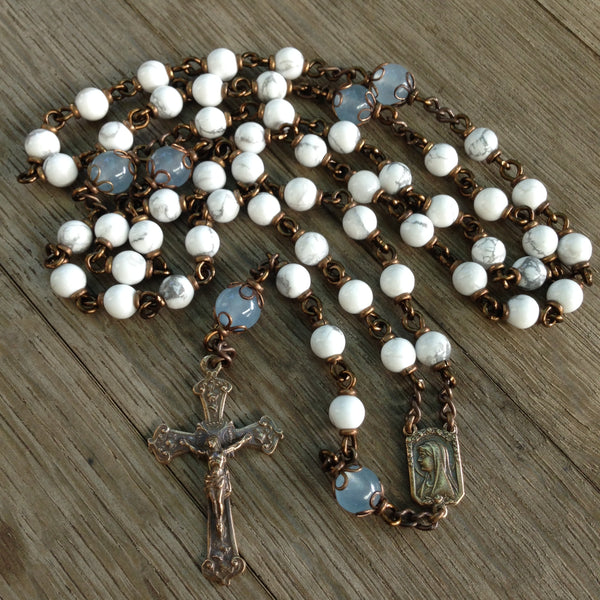 Our Lady of Lourdes / St. Bernadette Heirloom Rosary