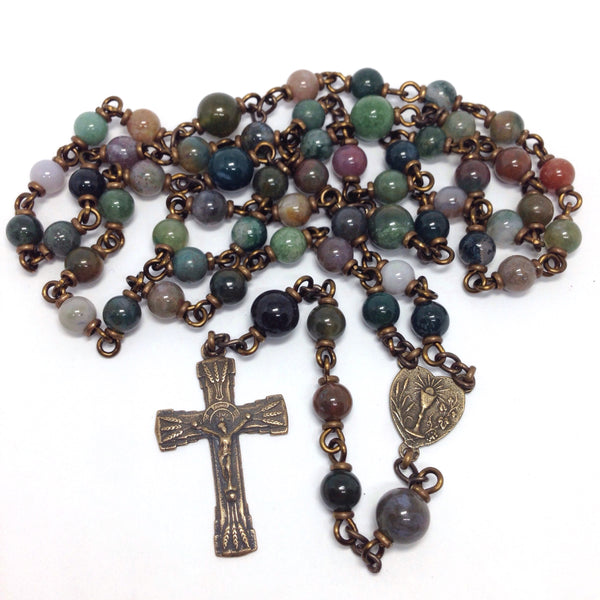 Eucharistic Heirloom Rosary