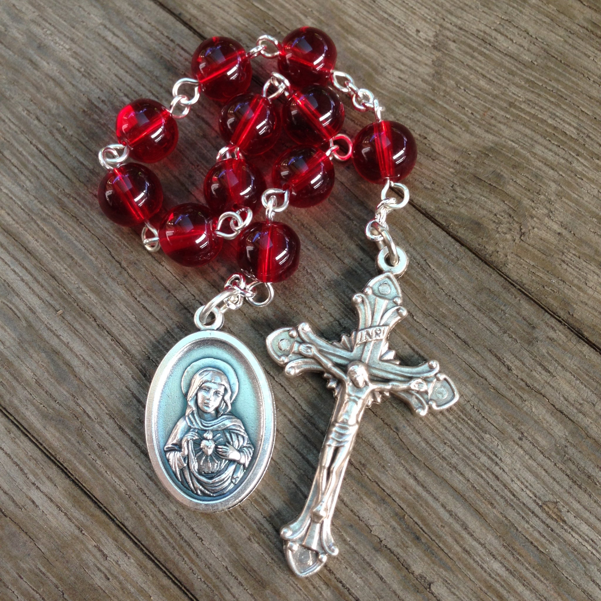 Immaculate Heart of Mary Pocket Rosary