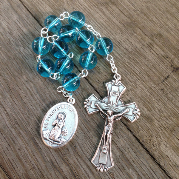 St. Bernadette / Our Lady of Lourdes Pocket Rosary