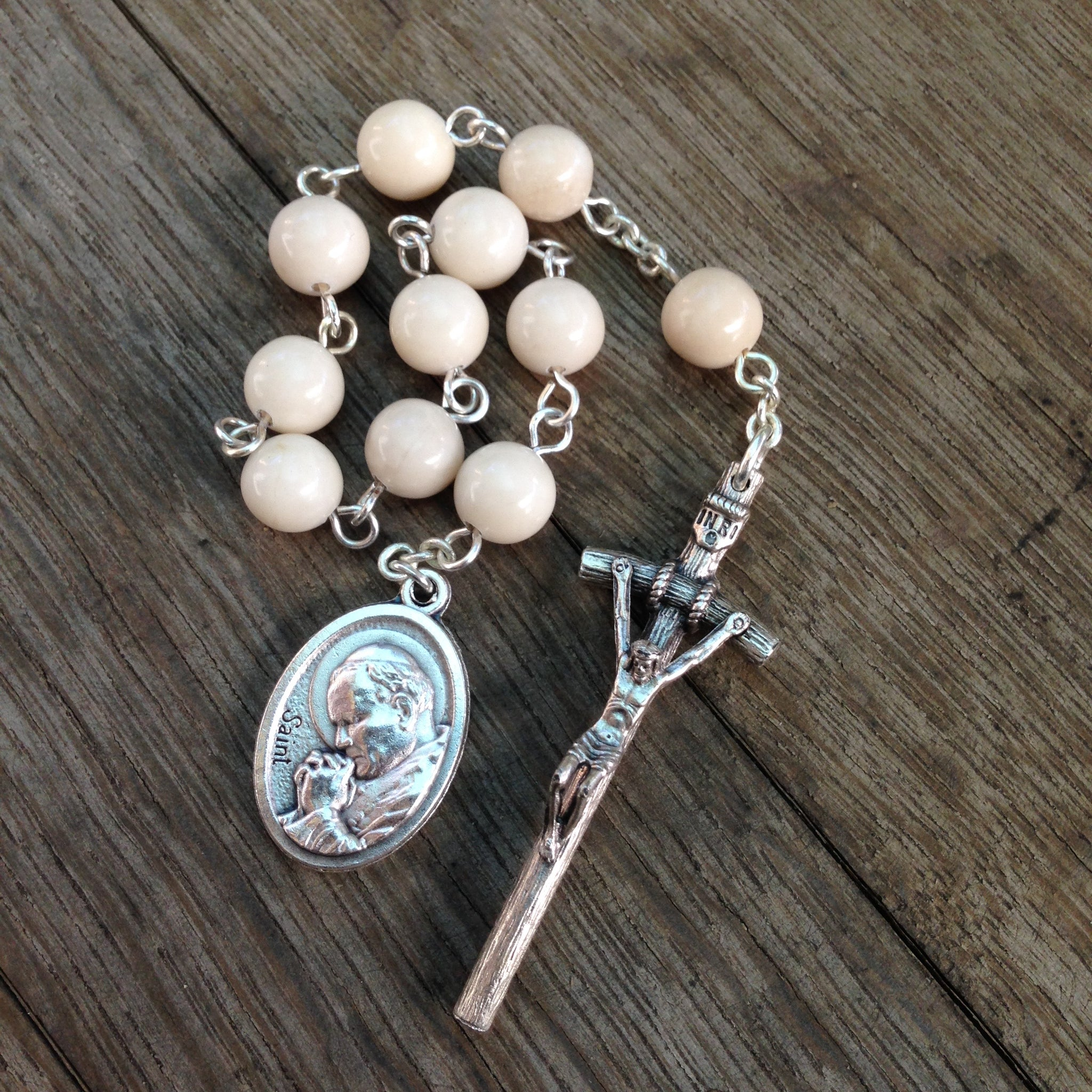 Pope St John Paul II Pocket Rosary