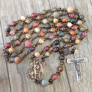 St. Michael Heirloom Rosary