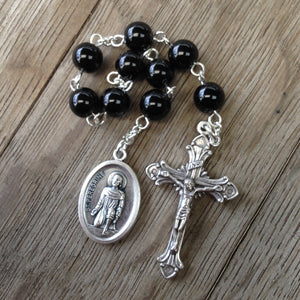 St. Peregrine Chaplet, Patron saint of cancer sufferers