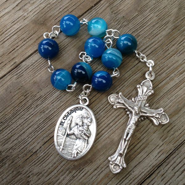 St. Christopher prayer chaplet