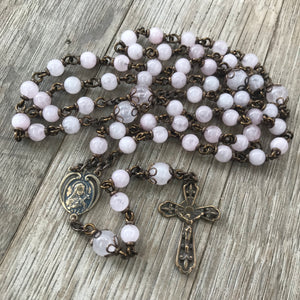 St. Therese heirloom rosary