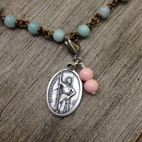 St. Joan of Arc Rosary Marker
