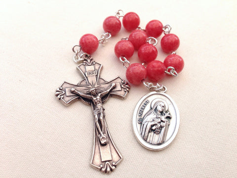 St Therese pocket rosary
