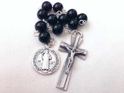 St Benedict pocket rosary