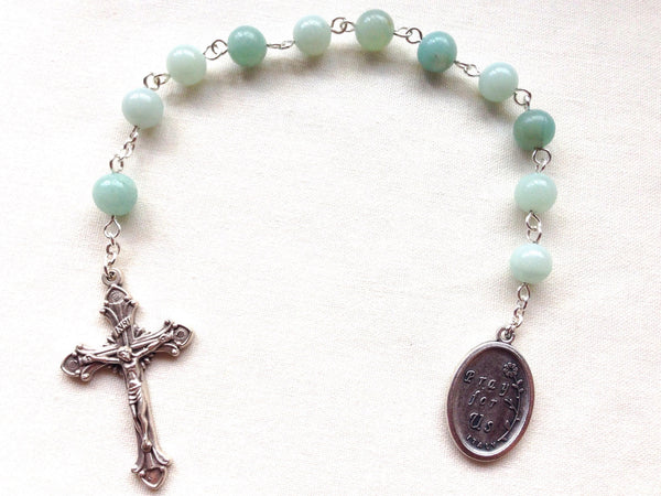 St Clare of Assisi pocket rosary