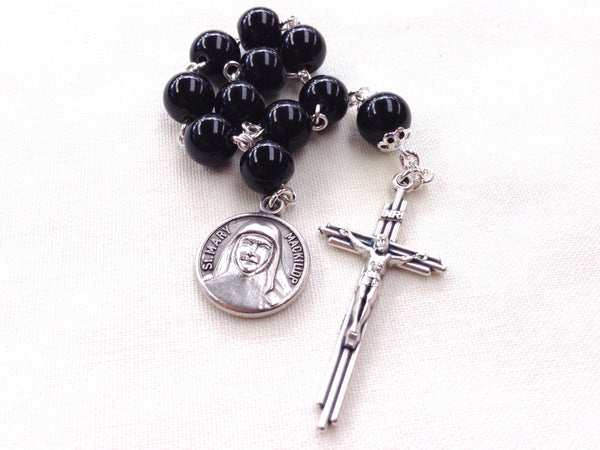 St Mary of the Cross MacKillop rosary marker