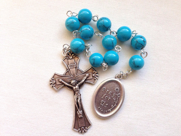 St. Lucy pocket rosary