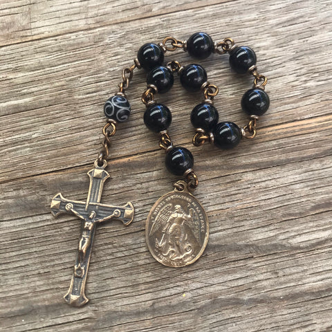 St. Michael pocket rosary