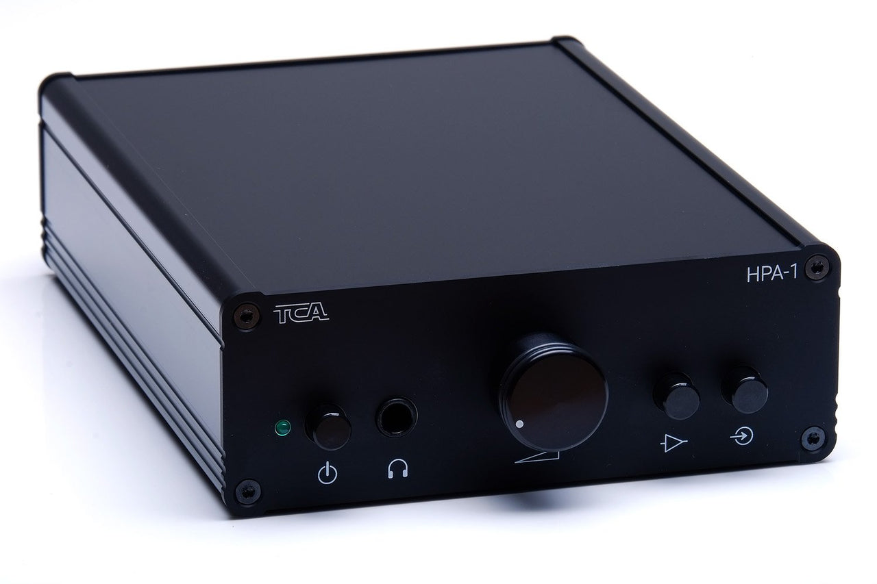 TCA HPA-1 world class headphone amplifier, front view