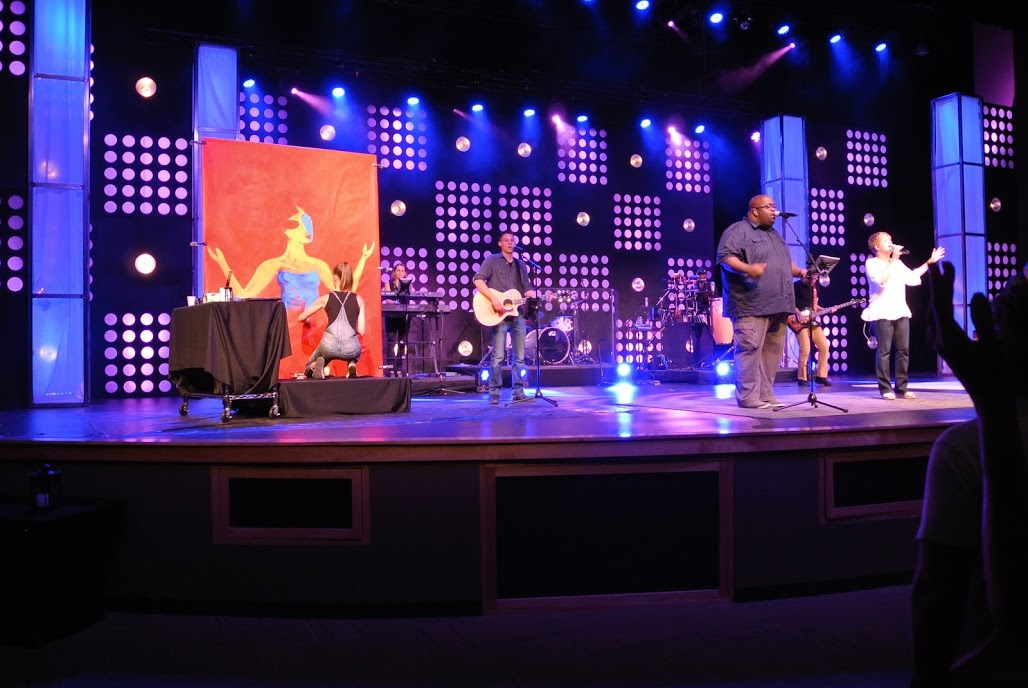 Jennifer Main at the Crossing Church