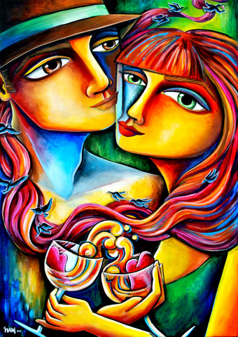 Together In Love | Prints On Canvas