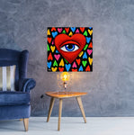 See All Through Love | Canvas Prints