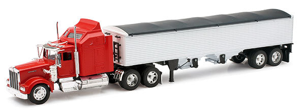 Kenworth W900 Tractor with Grain Trailer
